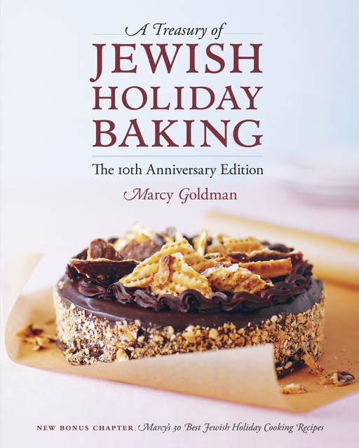 http://www.amazon.com/Treasury-Jewish-Holiday-Baking/dp/1770500030/ref=sr_1_1?s=books&ie=UTF8&qid=1396964496&sr=1-1&keywords=jewish+baking+marcy