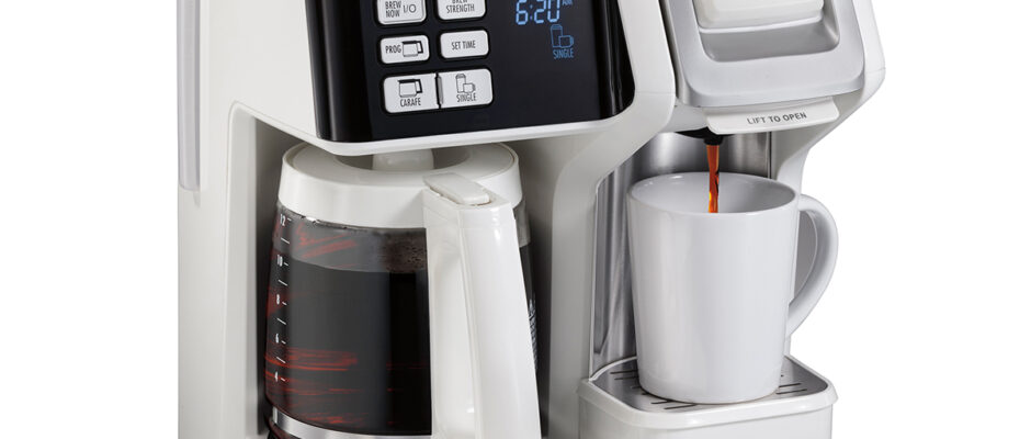 Hamilton Beach Flex and Brew Coffee Maker Offers a lot of Perks!